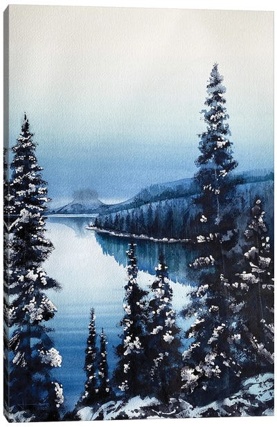 Paysage Canvas Art Print