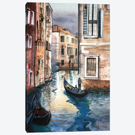 Venice I Canvas Print #LKM44} by Liam Kumawat Art Print