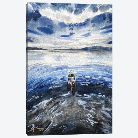 Alone II Canvas Print #LKM45} by Liam Kumawat Art Print