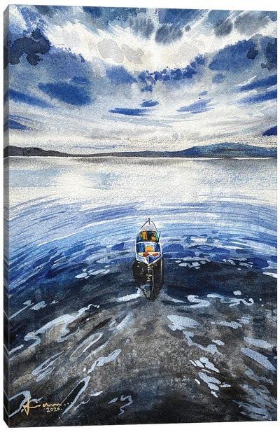 Alone II Canvas Art Print