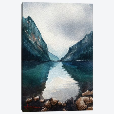 Straight Through Canvas Print #LKM47} by Liam Kumawat Canvas Art Print