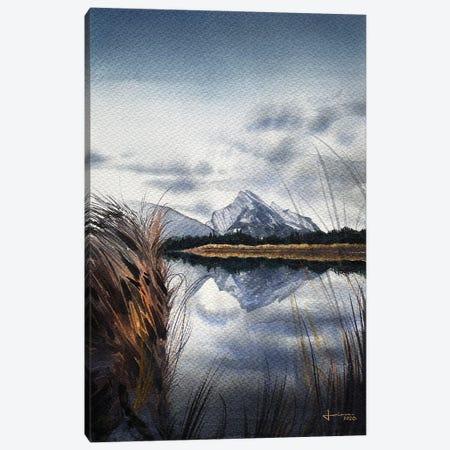 In the Horizon Canvas Print #LKM49} by Liam Kumawat Canvas Artwork