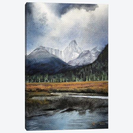Tarn Canvas Print #LKM50} by Liam Kumawat Art Print