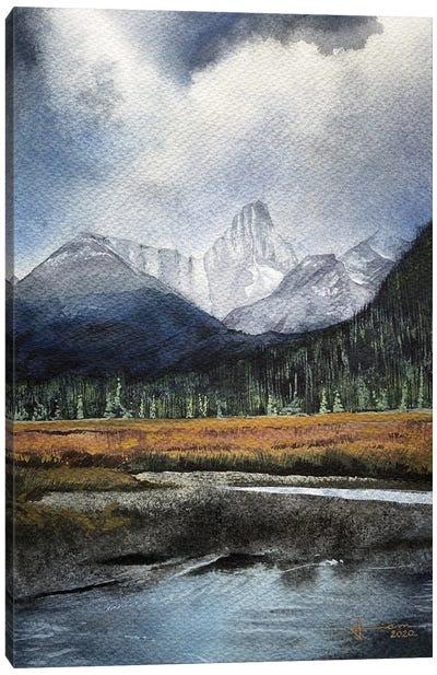Tarn Canvas Art Print