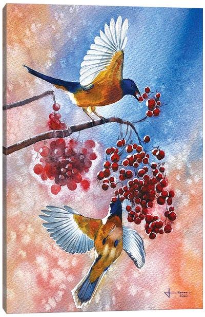 Blue Tit Canvas Art Print