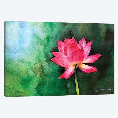 Water Lily II Canvas Print #LKM53} by Liam Kumawat Canvas Print