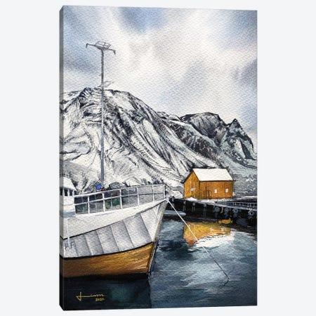 Port Canvas Print #LKM63} by Liam Kumawat Canvas Wall Art