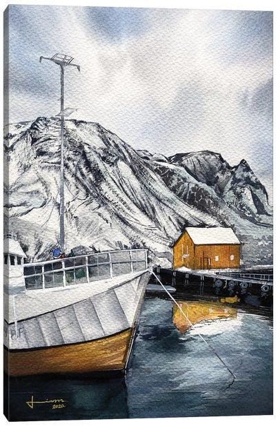 Port Canvas Art Print