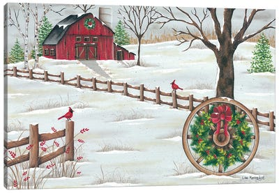 Wagon Wheel Canvas Art Print