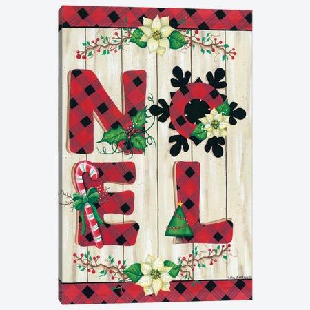 NOEL Canvas Print #LKN25} by Lisa Kennedy Canvas Artwork