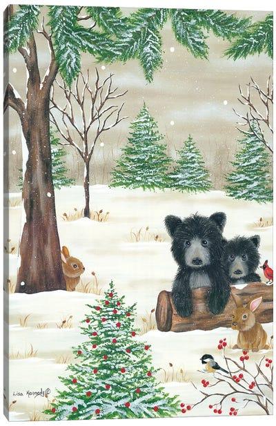 Bears & Bunnies Canvas Art Print