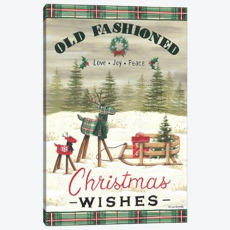 Christmas Wishes Canvas Print #LKN38} by Lisa Kennedy Canvas Art