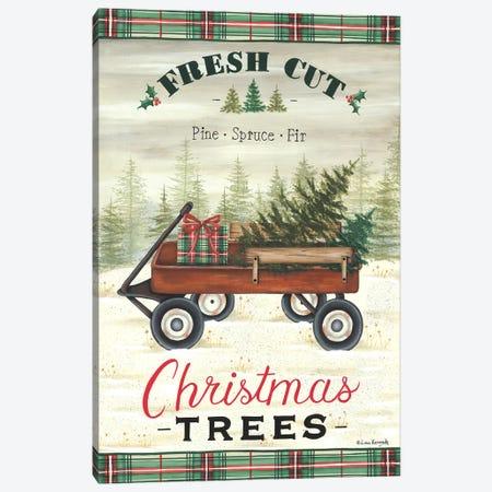 Fresh Cut Trees Canvas Print #LKN39} by Lisa Kennedy Canvas Artwork