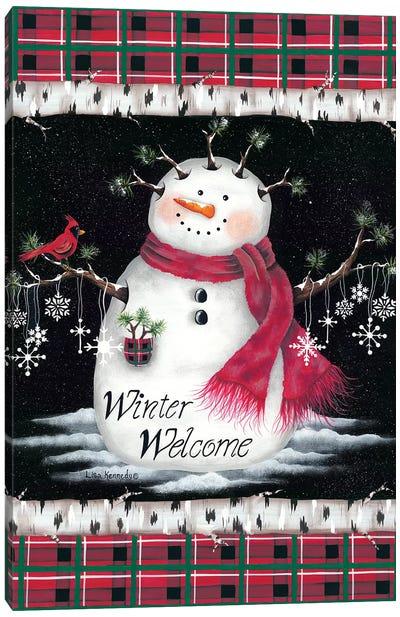 Winter Welcome Canvas Art Print
