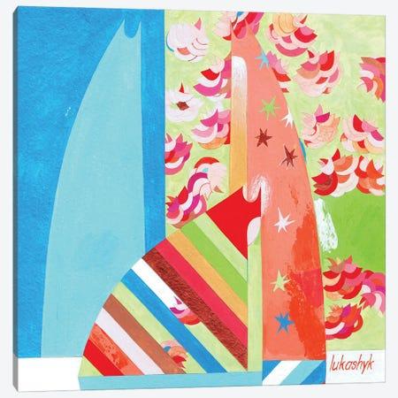 By The Sakura Canvas Print #LKS109} by Neli Lukashyk Canvas Print