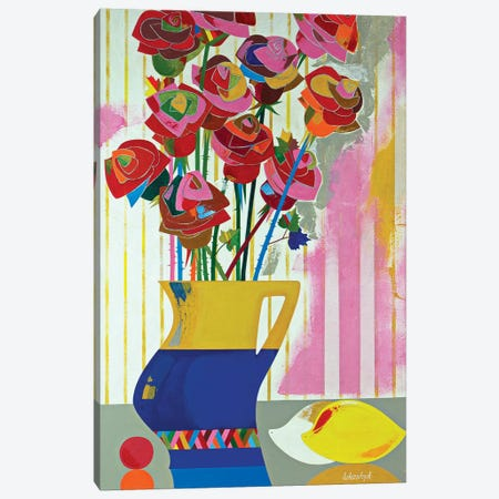 Brazilian Roses Canvas Print #LKS10} by Neli Lukashyk Canvas Art Print