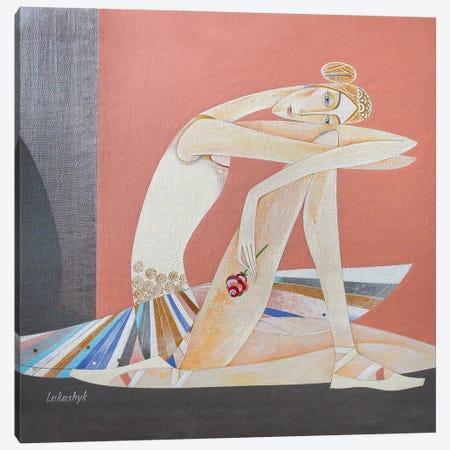 Rose Canvas Print #LKS116} by Neli Lukashyk Canvas Art Print