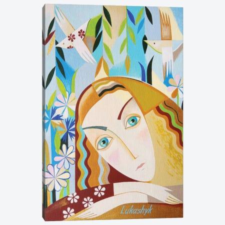 Birdsong Canvas Print #LKS117} by Neli Lukashyk Canvas Print