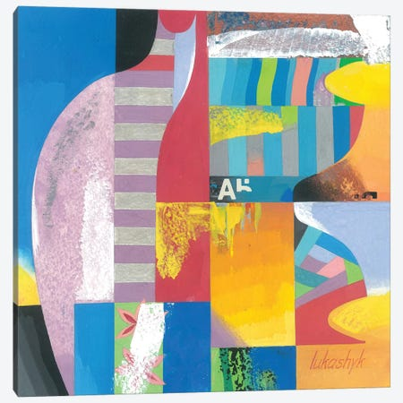 Ceramics Canvas Print #LKS13} by Neli Lukashyk Canvas Print