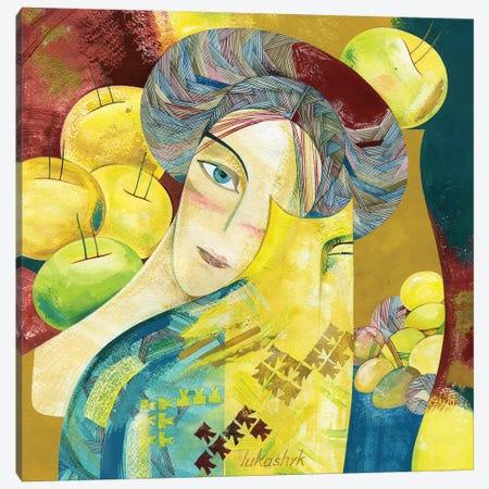 Donna Canvas Print #LKS20} by Neli Lukashyk Canvas Art