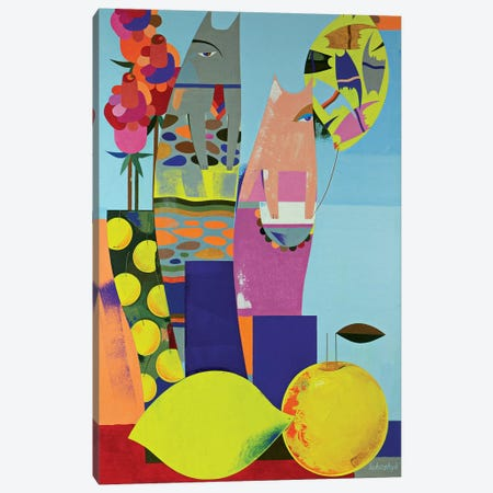 Family Canvas Print #LKS22} by Neli Lukashyk Canvas Wall Art