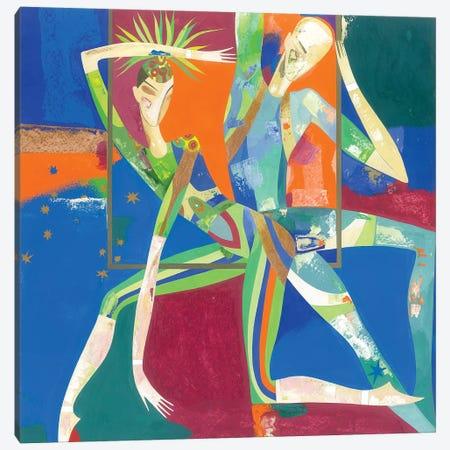 In The Light Of Spotlights II Canvas Print #LKS30} by Neli Lukashyk Canvas Print
