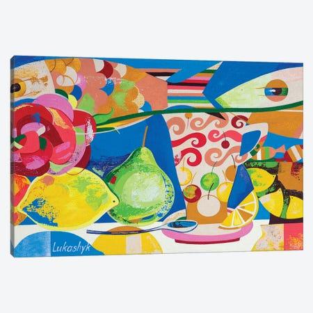 Picnic Canvas Print #LKS45} by Neli Lukashyk Canvas Art Print