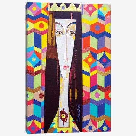 Rogneda Canvas Print #LKS48} by Neli Lukashyk Canvas Art