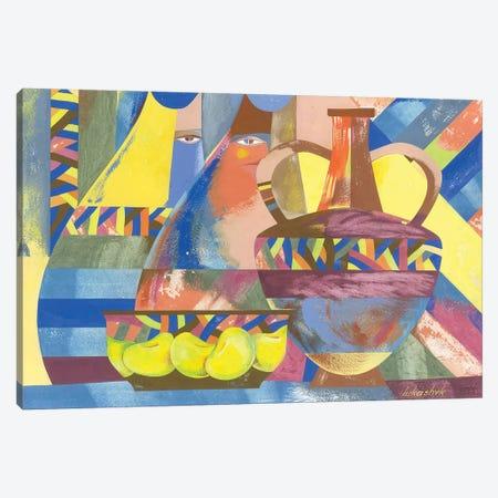 Spectators Canvas Print #LKS53} by Neli Lukashyk Canvas Art Print