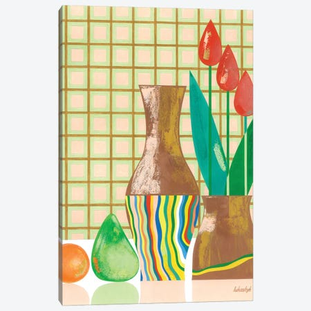 Still Life With Mandarin Canvas Print #LKS56} by Neli Lukashyk Canvas Wall Art