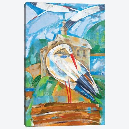 Storks Canvas Print #LKS57} by Neli Lukashyk Canvas Artwork