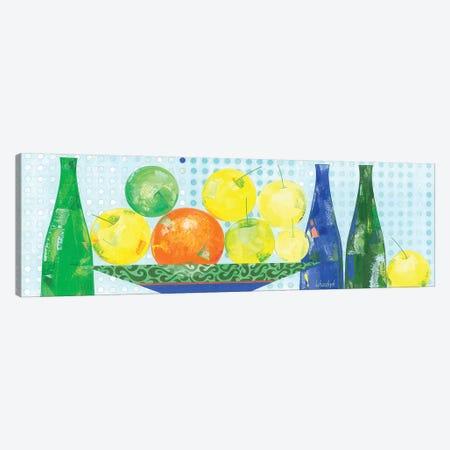 Apples From My Garden Canvas Print #LKS68} by Neli Lukashyk Canvas Wall Art