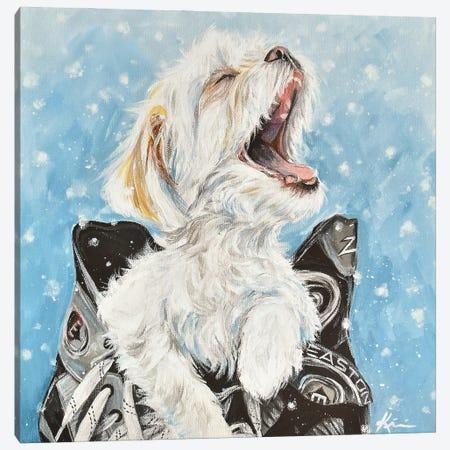 Shichon Catching Snowflakes Canvas Print #LKV13} by Lindsay Kivi Canvas Art