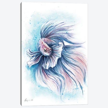 Betta Fish Canvas Print #LKV17} by Lindsay Kivi Art Print