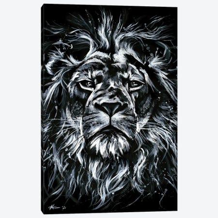Lion Canvas Print #LKV1} by Lindsay Kivi Canvas Art Print
