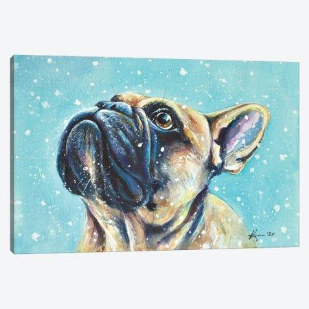 First Snow Canvas Print #LKV26} by Lindsay Kivi Canvas Artwork