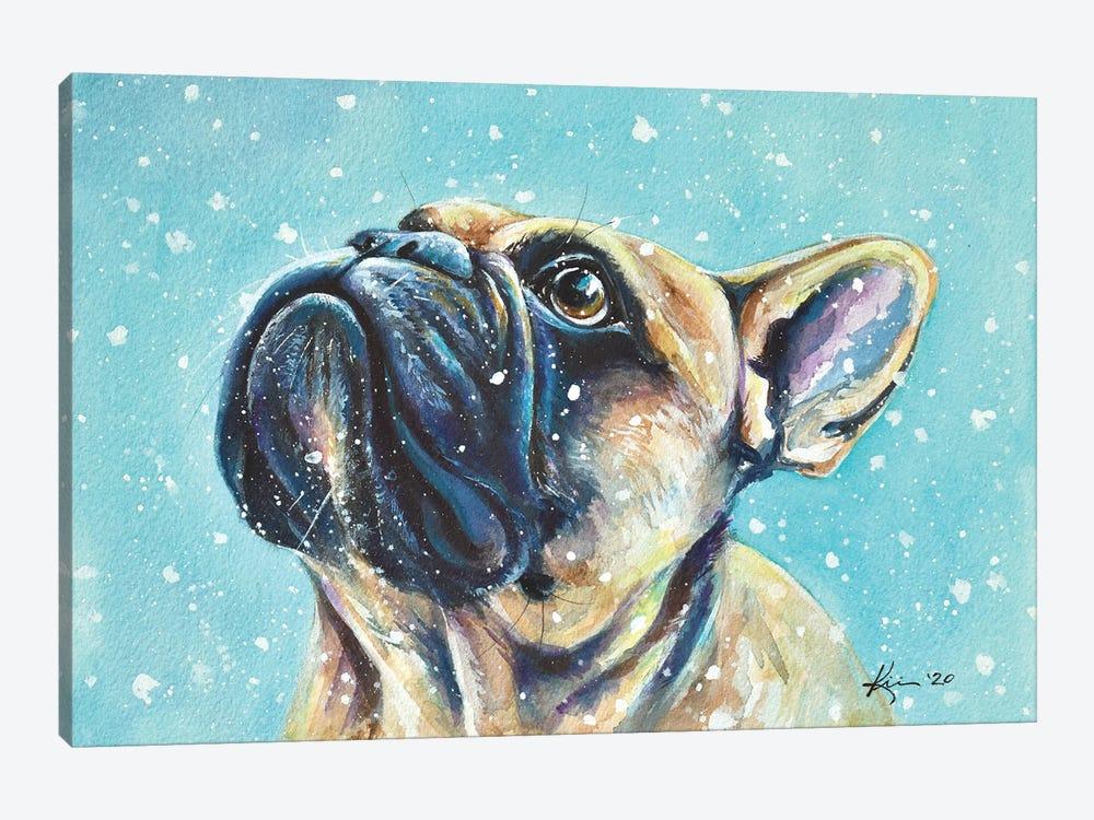 First Snow by Lindsay Kivi 1-piece Canvas Art