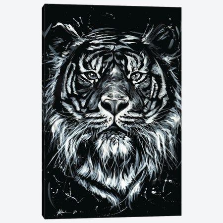 Tiger Canvas Print #LKV2} by Lindsay Kivi Canvas Art Print