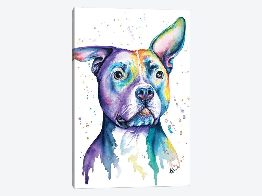 Pit Bull by Lindsay Kivi 1-piece Canvas Art