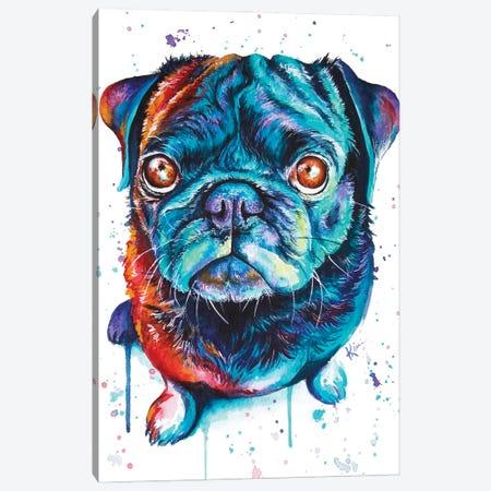 Pug Canvas Print #LKV36} by Lindsay Kivi Canvas Print