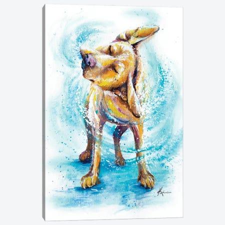 Shake It Off Canvas Print #LKV38} by Lindsay Kivi Canvas Wall Art