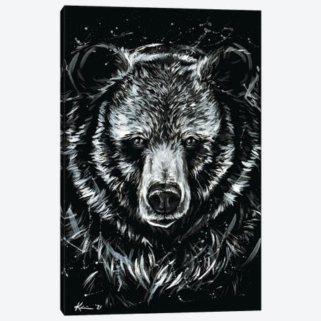 Grizzly Canvas Print #LKV3} by Lindsay Kivi Canvas Print