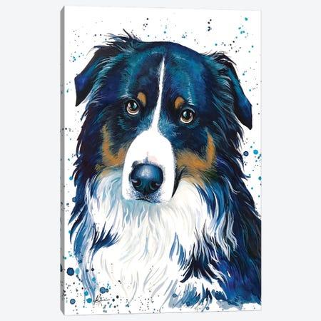 Bernese Mountain Dog Canvas Print #LKV45} by Lindsay Kivi Canvas Wall Art