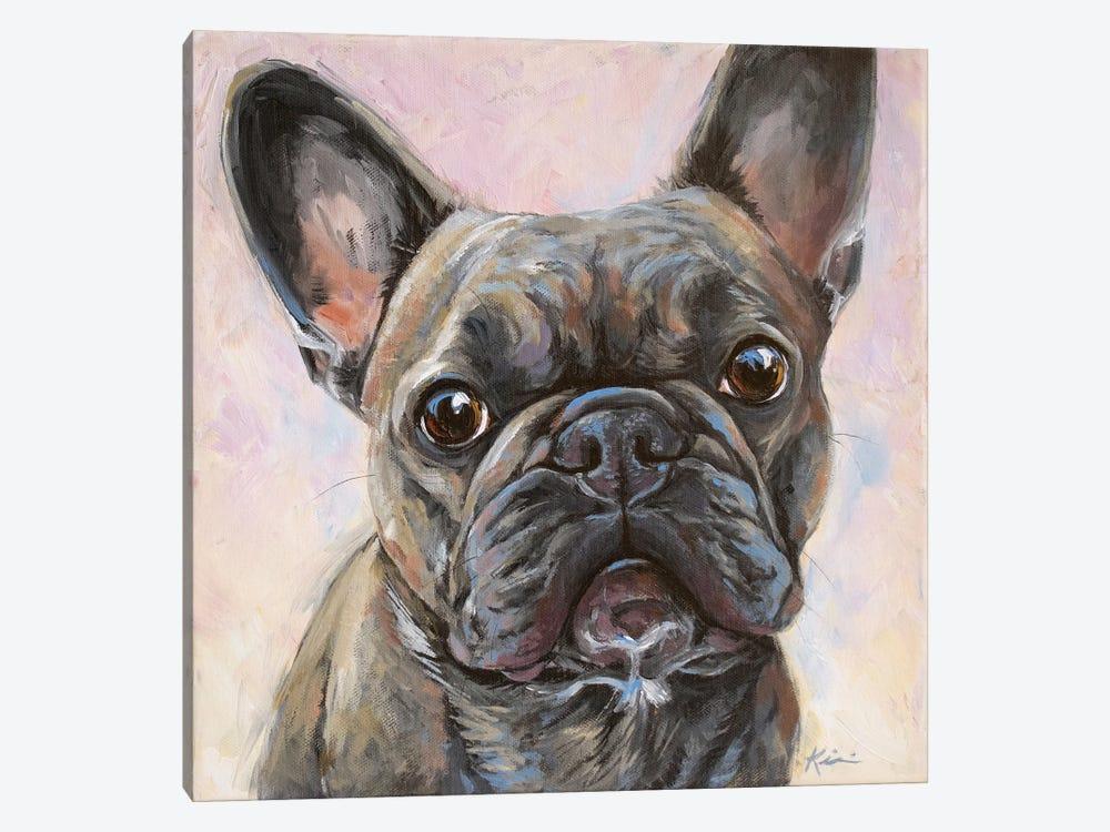 French Bulldog by Lindsay Kivi 1-piece Canvas Wall Art