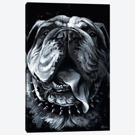 Bully Canvas Print #LKV65} by Lindsay Kivi Canvas Art