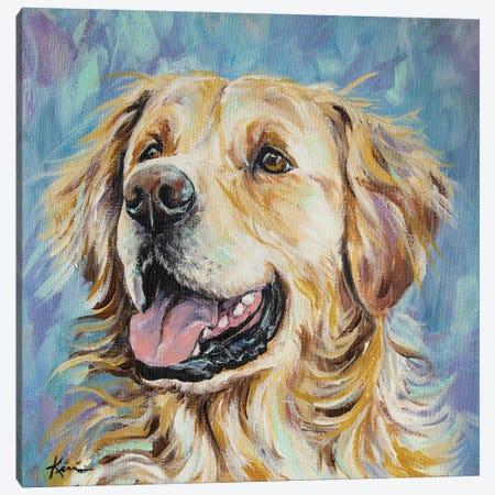 Golden Retriever Canvas Print #LKV8} by Lindsay Kivi Canvas Print