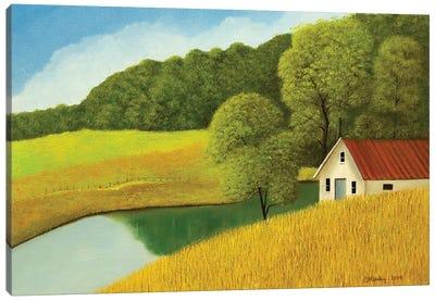 Morgan Farm Canvas Art Print