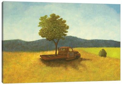 Social Distancing Canvas Art Print