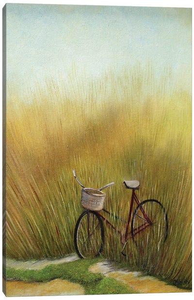 The Bike Trail Canvas Art Print