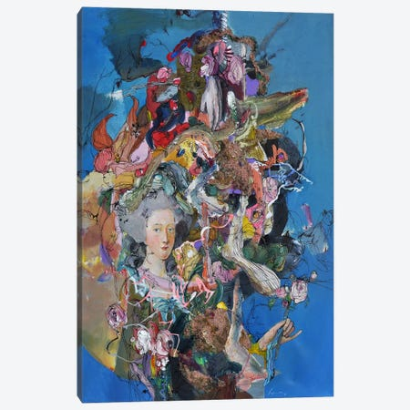 Marie Antoinette Canvas Print #LLE105} by Larisa Ilieva Canvas Print
